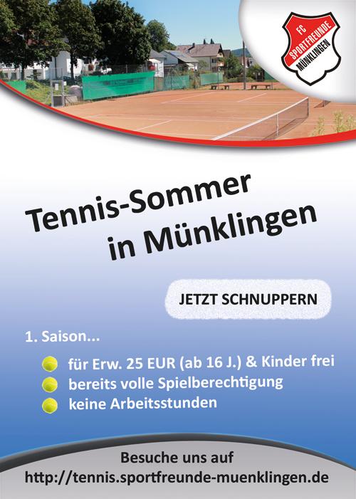 Tennis schnuppern
